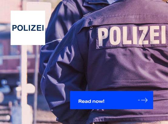 Scheer PAS bei der Landespolizei