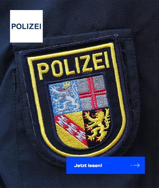 Polizei im Saarland