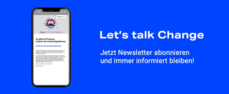 Scheer PAS Newsletter